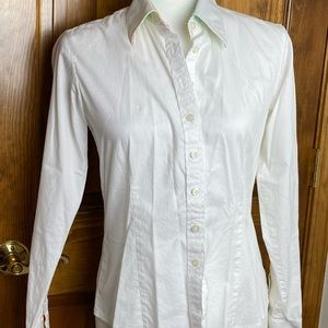 Lilly Pulitzer White Button Down Size 6